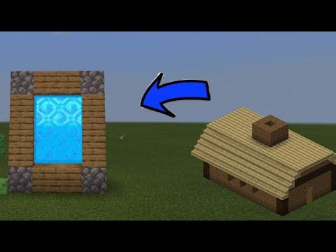 Cara Membuat Portal New Desa Villager 2020 Mod Minecraft Beta Youtube
