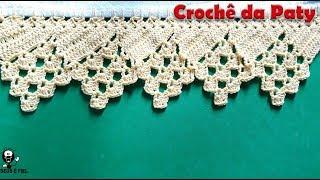 Veja Como Fazer Bico de Crochê Direto no Pano