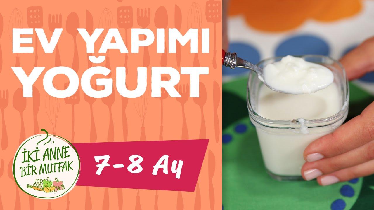 Bebekler için ev yapımı meyveli yoğurt tarifi