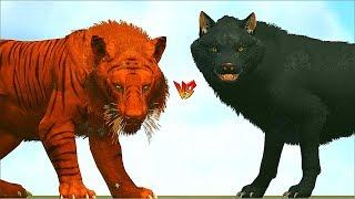 Ark Survival - TIGER vs ARK DINOSAURS/MAMMALS [Ep.382]