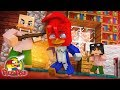 Minecraft Who's Your Family? - O BEBÊ DO LEONCIO VS PICA-PAU ( Woody Woodpecker O Filme )