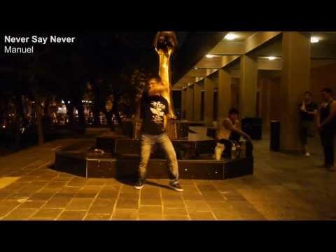 【踊ってみた】NEVER SAY NEVER / MANUEL (パラパラ)