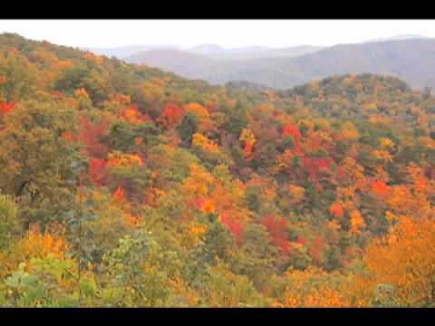 asheville s amazing fall foliage youtube