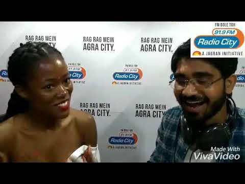 Miss Universe Great Britain 2018-19 attempts #SameerKiTedhiZubaan   RJ Sameer   Agra