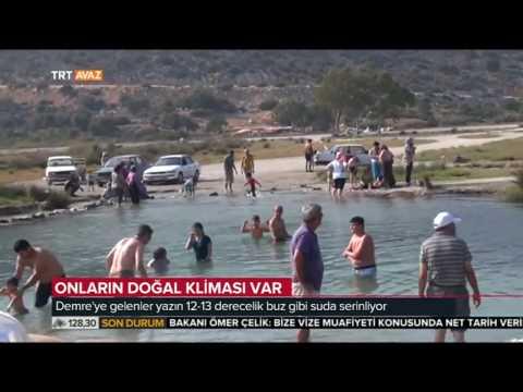 Onların Doğal Kliması Var! - Antalya Demre'de Şifa Buluyorlar -  TRT Haber