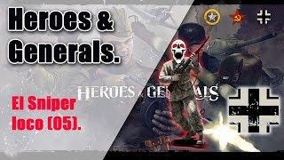 Heroes and Generals   El Sniper Loco (05)   La Bomba de GP   40/11 k/d