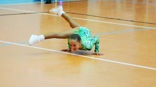 Маленькая Настасья Lex / спортивная аэробика