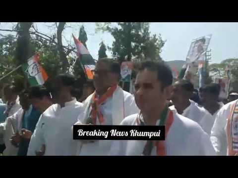 Nomination bwlai yaphar kha Congress West Achukthai Ni batai nai Mg. Subal Bhowmik bo haino.