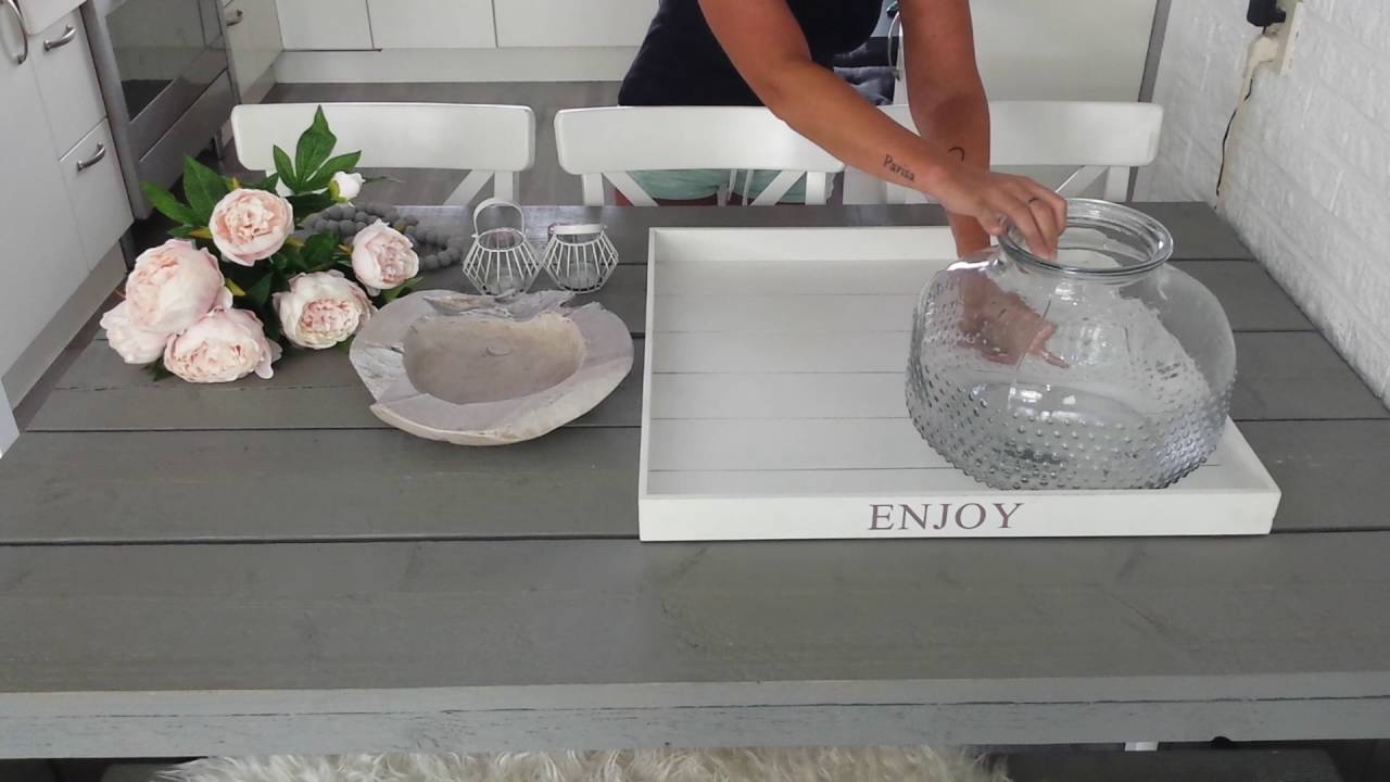 Action Huisdecoratie Dienblad Decoratie - Youtube