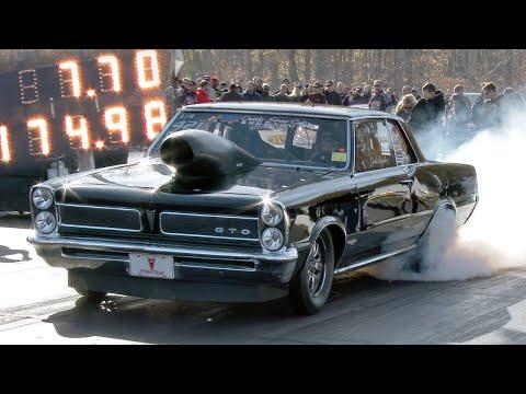 John Snyder N/A All Motor Pontiac GTO goes 7.70!