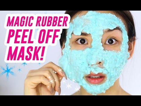 Magic Rubber Peel Off Mask!!  || TINA TRIES IT