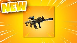 "*NEW* ""Thermal Scoped Assault Rifle"" COMING TO FORTNITE! - Fortnite Battle Royale scoped AR!"