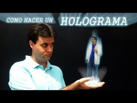 Como hacer un holograma