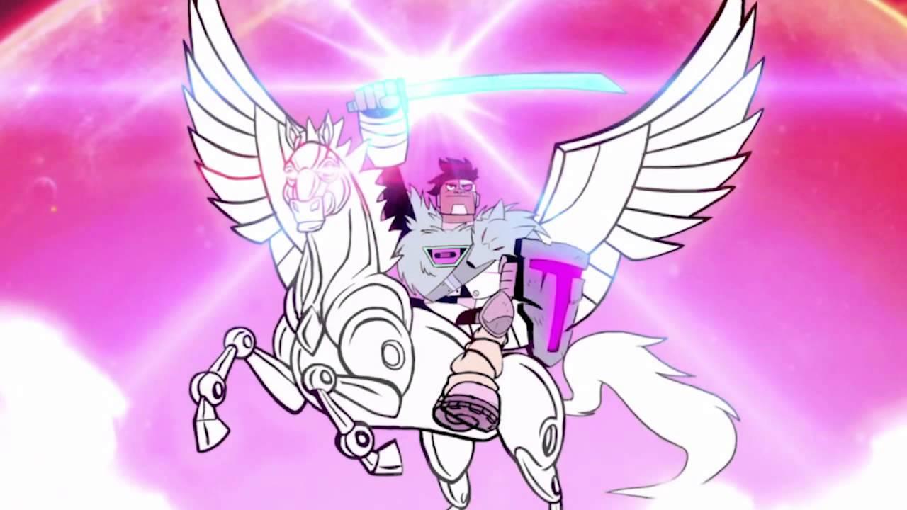Teen Titans Go - Night Begins To Shine Full Hd Version -7437