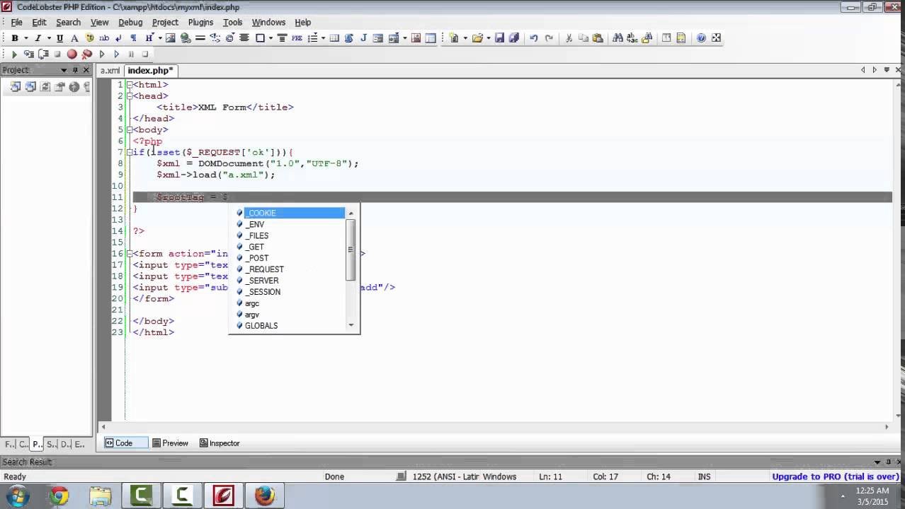HTML Form To XML Using PHP YouTube
