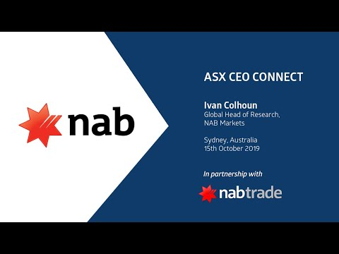 ASX CEO Connect - NAB Market Update