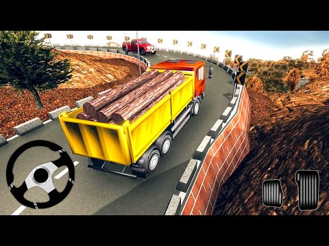 Offroad Uphill Truck Driver Cargo Transport - Truck Driving Simulator 2019 - Android Gameplay