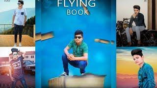 Flying Book PicsArt Heavy Manipulation Photo Editing//Picsart Amazing Editing Tutorial//Picsart 2018