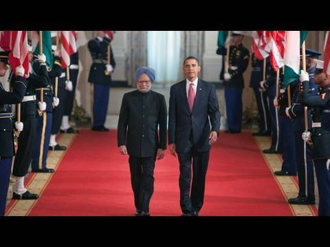 President Obama Welcomes Prime Minister Singh of India