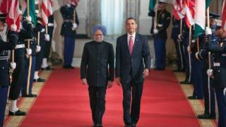 President Obama Welcomes Prime Minister Singh of India thumbnail