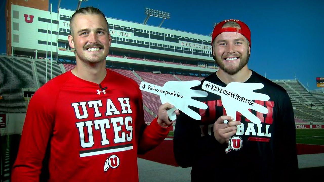 Teammate Challenge Utah football s Tom Hackett and Andy Phillips