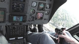 My first flight in a real Helicopter EC-120 Colibri Eurocopter Airshow 2013 HD