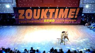 Olaya a Papagaio show ZOUKTIME 2016