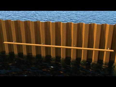 Fyrø havnen - harbour visualisation