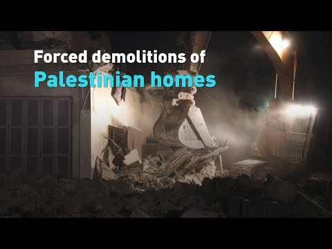 What's Behind The Forced Demolition Of Palestinian Homes In East Jerusalem?