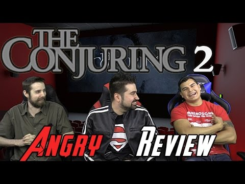 The Conjuring 2 Angry Movie Review