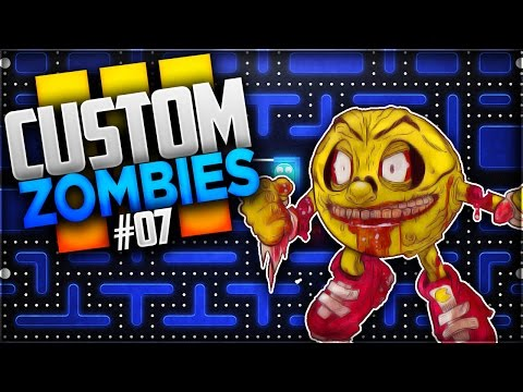 UN PACMAN ZOMBIE ! CUSTOM MAP ZOMBIES #7