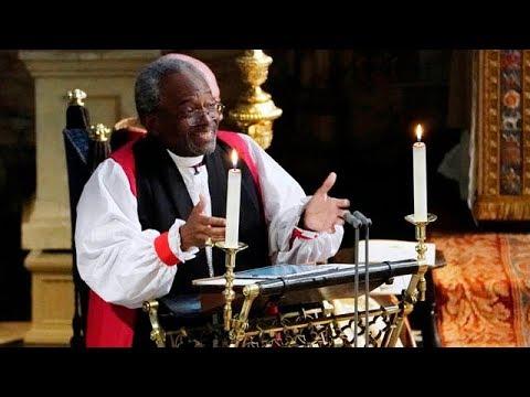 Bishop Michael Curry's FULL royal wedding sermon