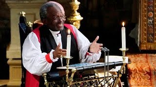 Bishop Michael Curry's FULL royal wedding sermon