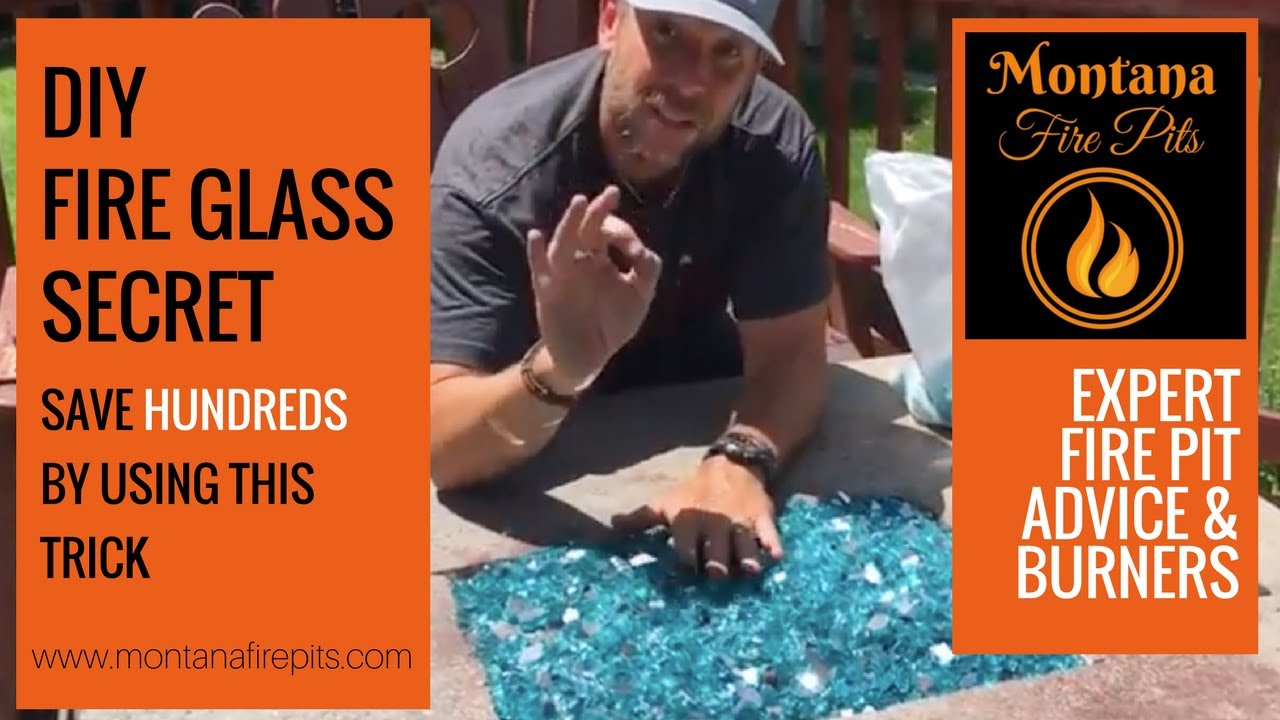 Save Hundreds on Fire Glass! - The Lava Rock Trick. Montana Fire Pits - Save Hundreds On Fire Glass! - The Lava Rock Trick - YouTube