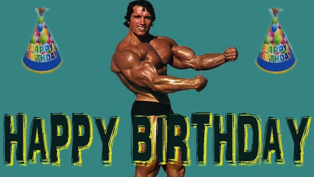 поздравительные открытки с днем рождения для качка человек