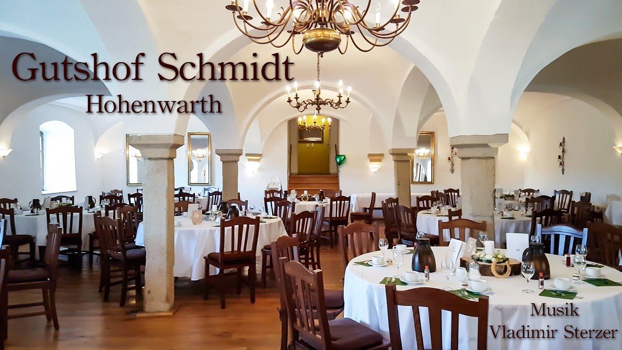 Gutshof Schmidt Hohenwarth Restaurant Hochzeitsfeier Hochzeit Youtube