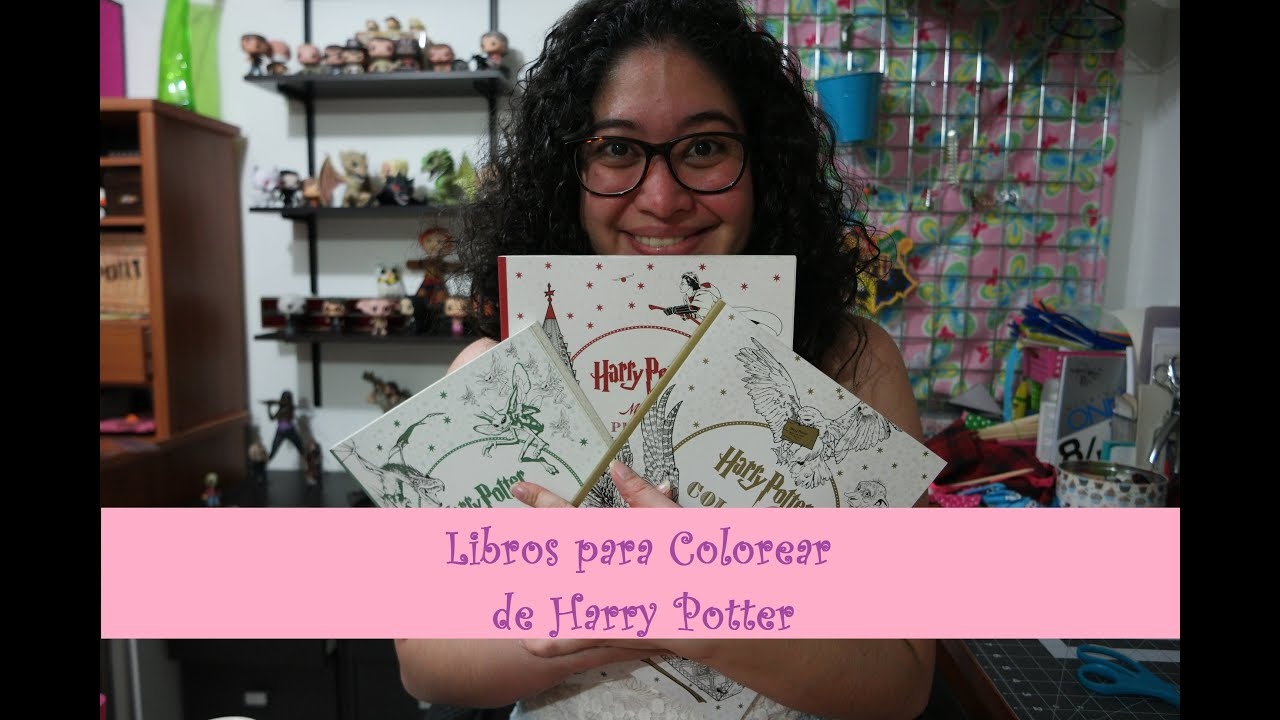 Arte Terapia: Review y Flip Through de Libros para Colorear de Harry ...