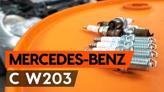 Mercedes W203 huolto: ohjevideo