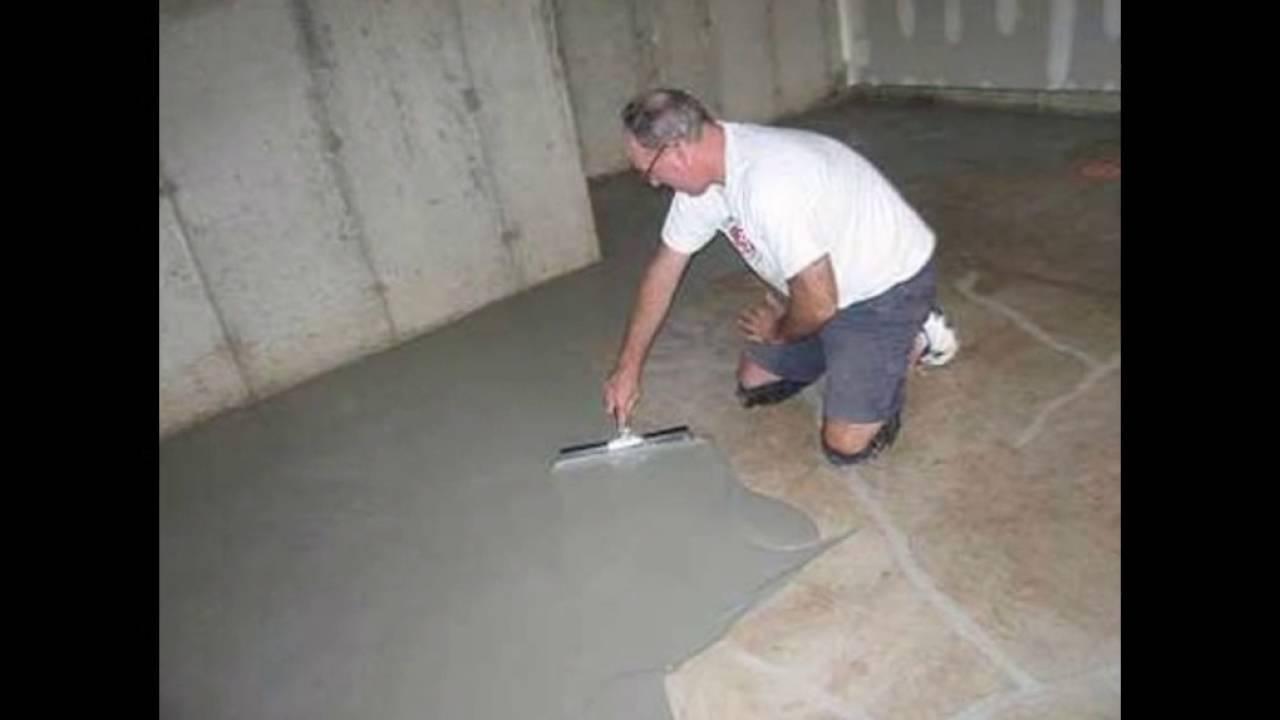 Учимся бетонировать пол в гараже своими руками 88