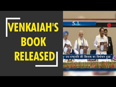 Modi releases Venkaiah Naidu's book on his first year as vice president