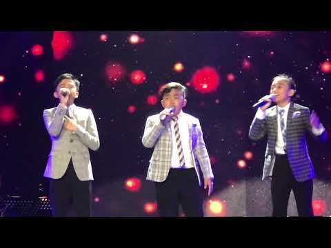 "TNT Boys can't help but shed tears as they sing ""Flashlight"""