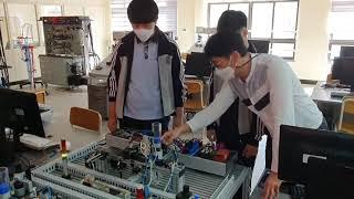서부산공업고등학교 자동제어기기제작실 VR