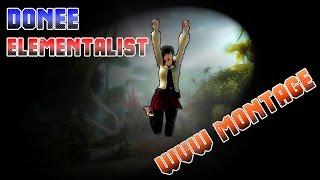 Donee D/D Elementalist Roaming Montage Guild Wars 2