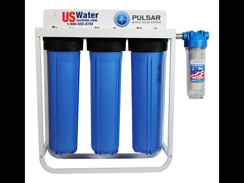America's Best Water Purification System - The US Water Pulsar CZF Charged Filtration System