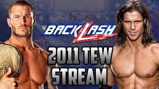 Backlash PPV! WWE 2011 | Total Extreme Wrestling Stream