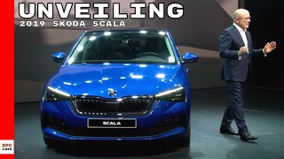 2019 Skoda Scala Unveiling