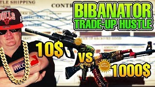 cs go trade up hustle 20 10 aug chameleon vs 1000 ak47 the empress