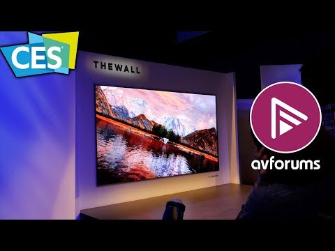 146' 'The Wall' Micro LED & Q9S 8K TVs announced by Samsung