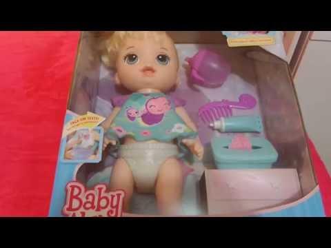 Baby Alive Fralda Que Acende M 193 Gica 2016 Fala Portugu 202 S