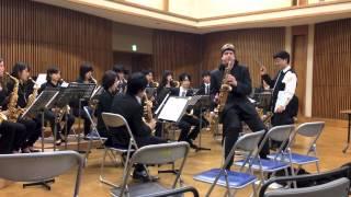 Tokyo University of the Arts Saxophone Class&Arno Bornkamp
